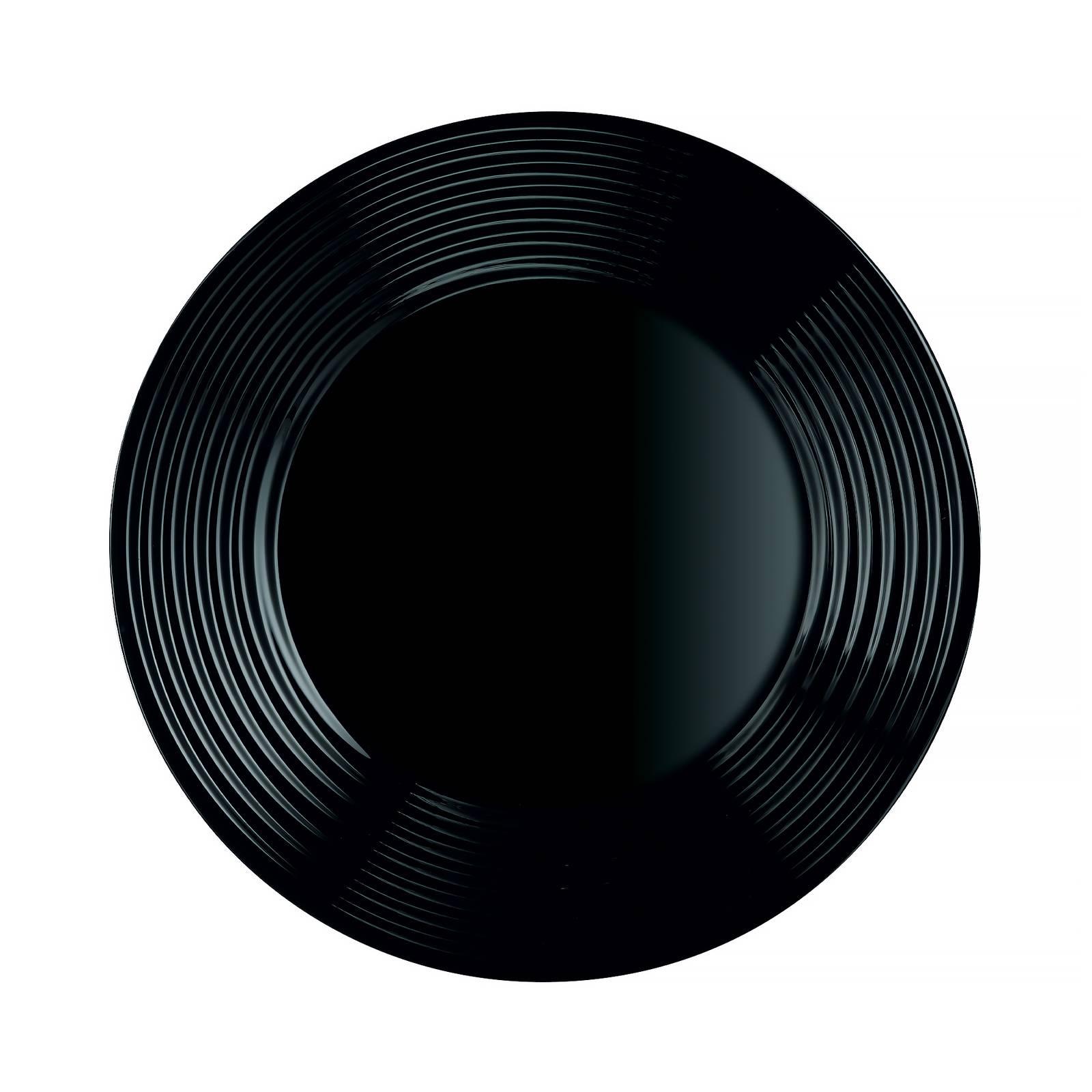 Dessertteller Harena 19 cm schwarz LUMINARC