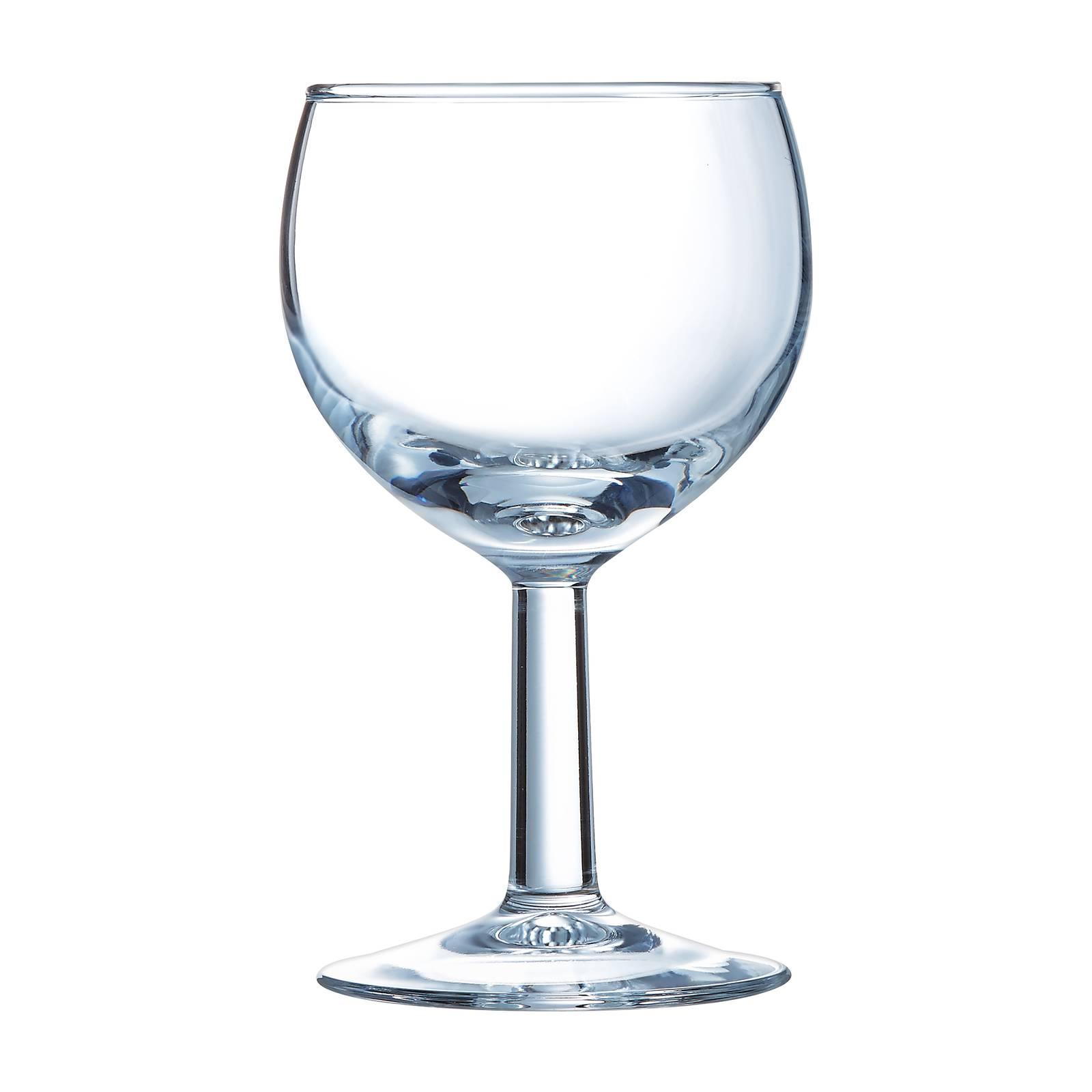 Komplet 6 kieliszków do wina Ballon Opti 250 ml LUMINARC