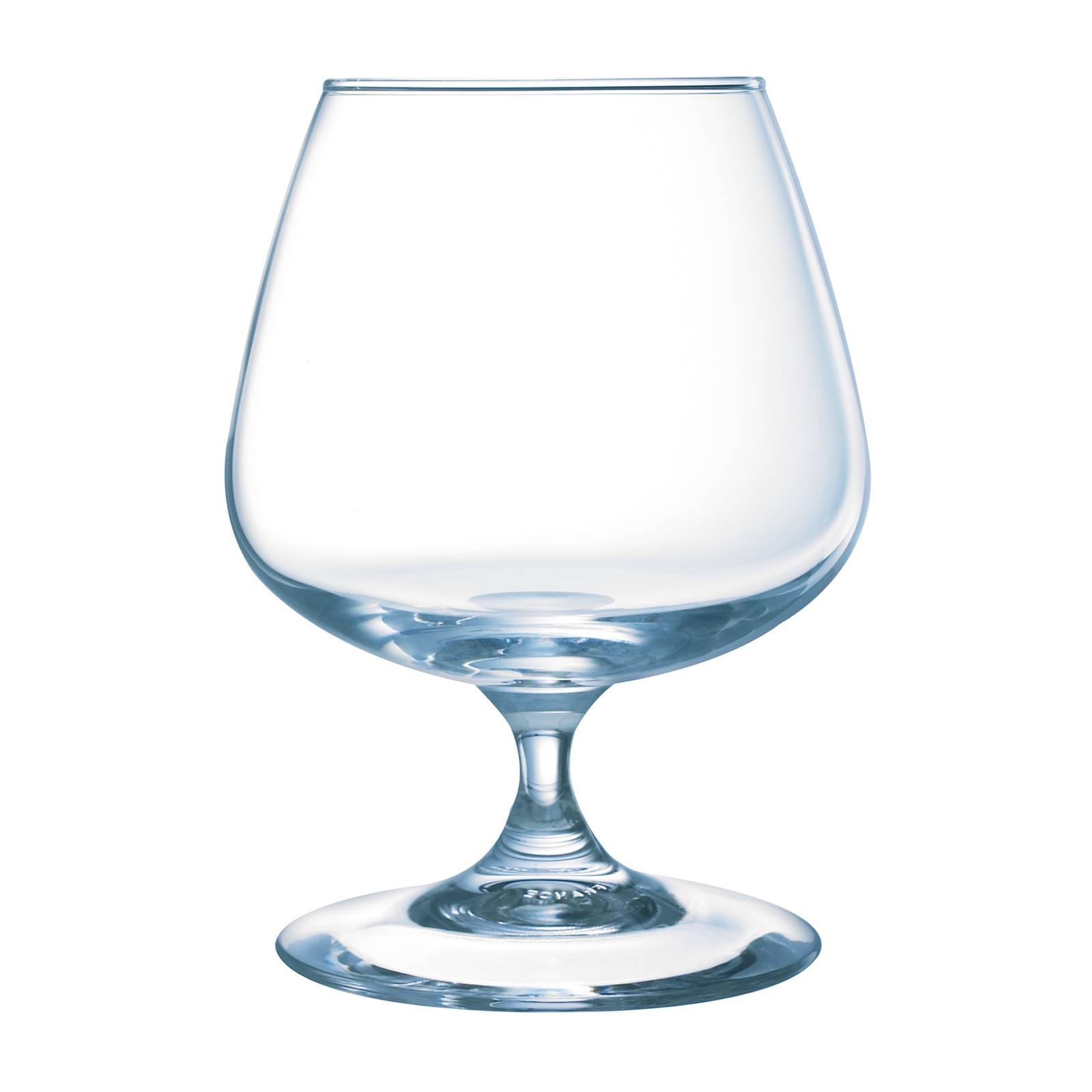 Set of 6 brandy glasses Versailles  410 ml LUMINARC