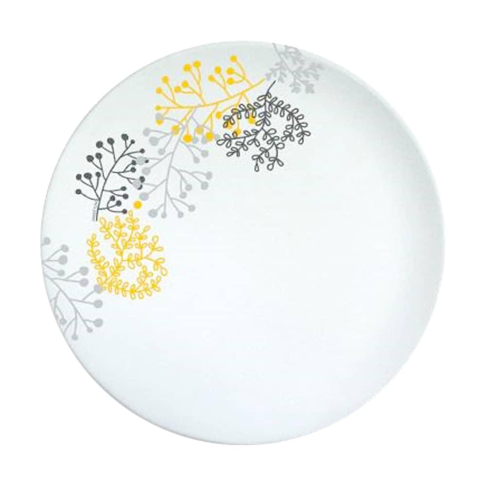 Talerz deserowy Nordic 19 cm żółto-szary AMBITION