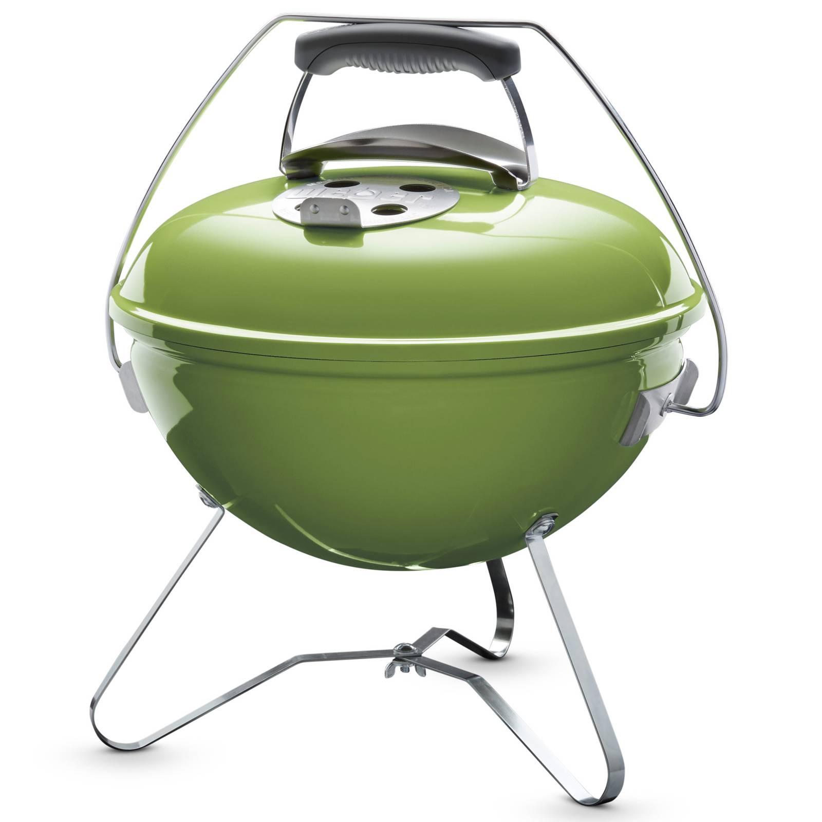 Grill węglowy Smokey Joe® Premium 37 cm zielony WEBER