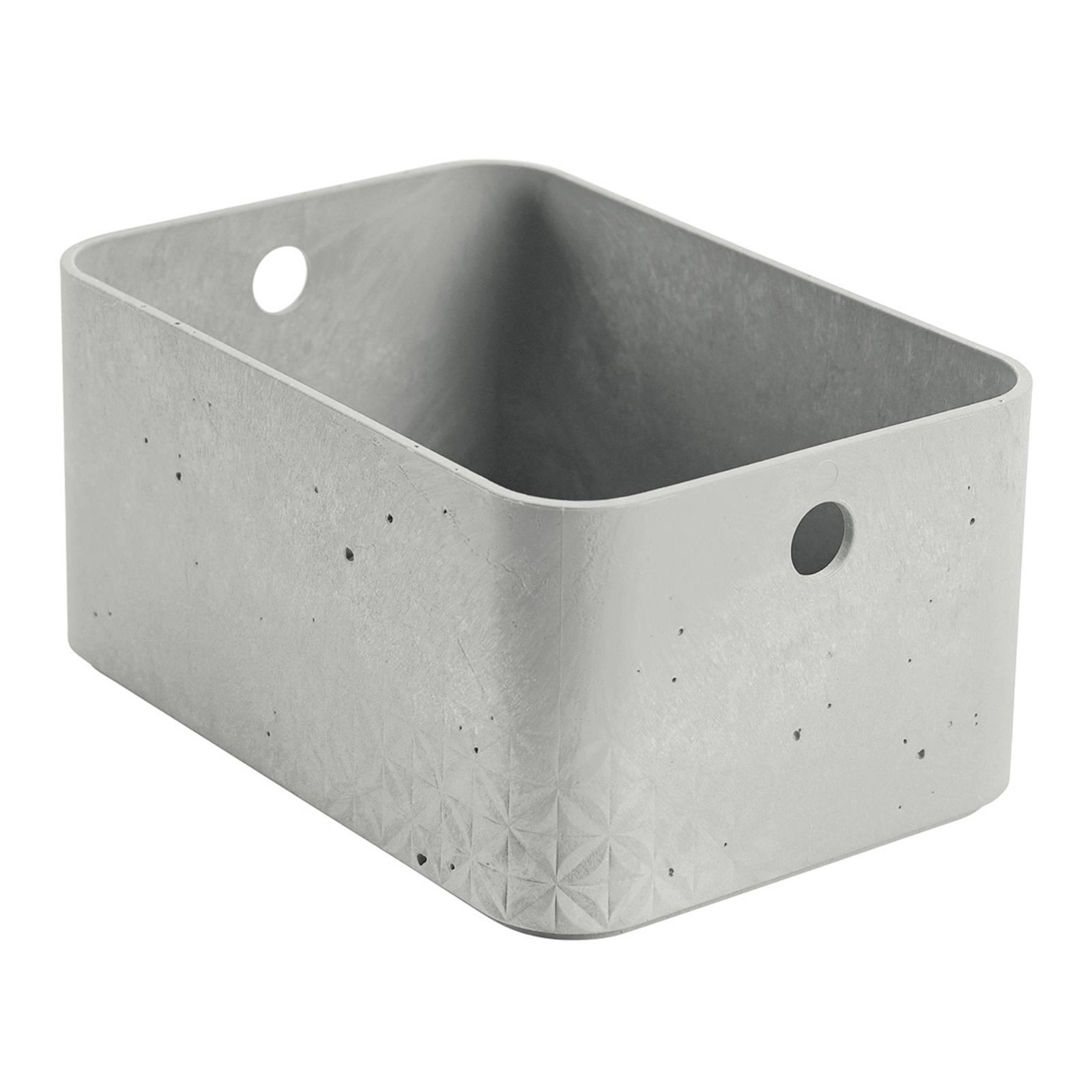 Förvåringslåda rektangulär 4 L Betong grå CURVER
