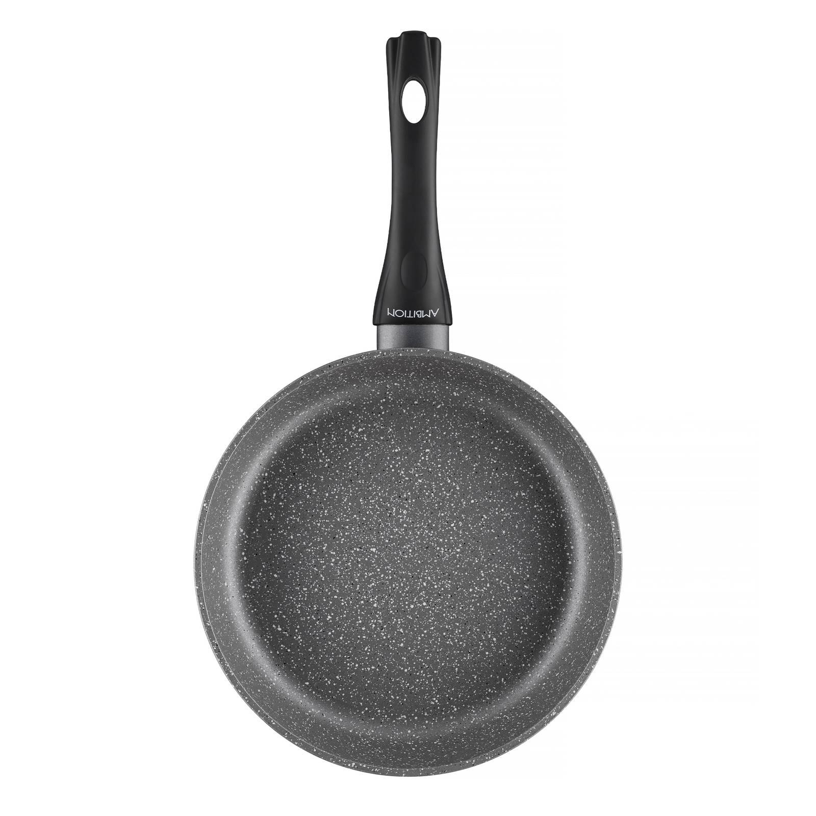 Frying pan Magnat Stone with coating Qualum Premium 30 cm AMBITION