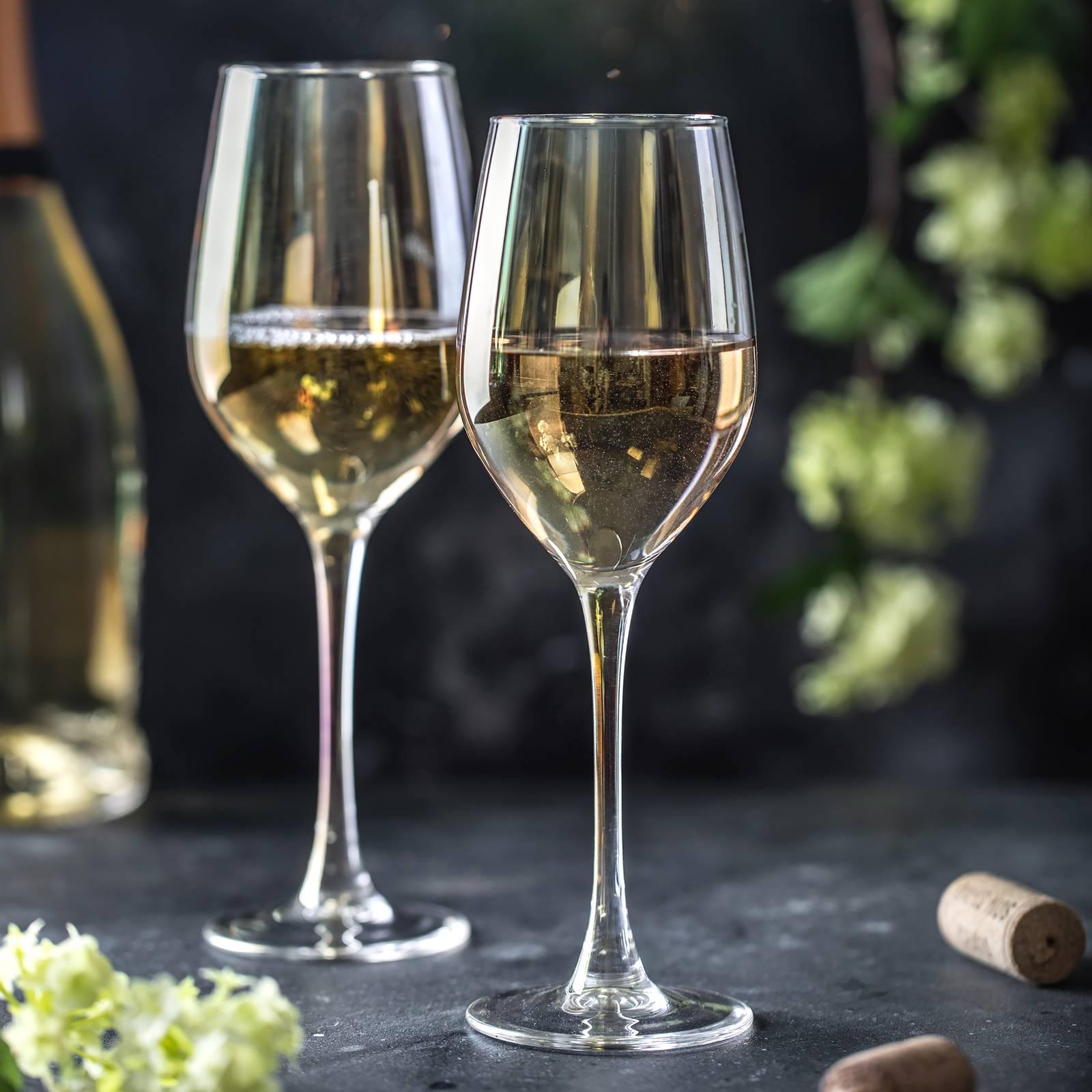 Komplet 6 kieliszków do wina Celeste Golden Chameleon 270 ml LUMINARC
