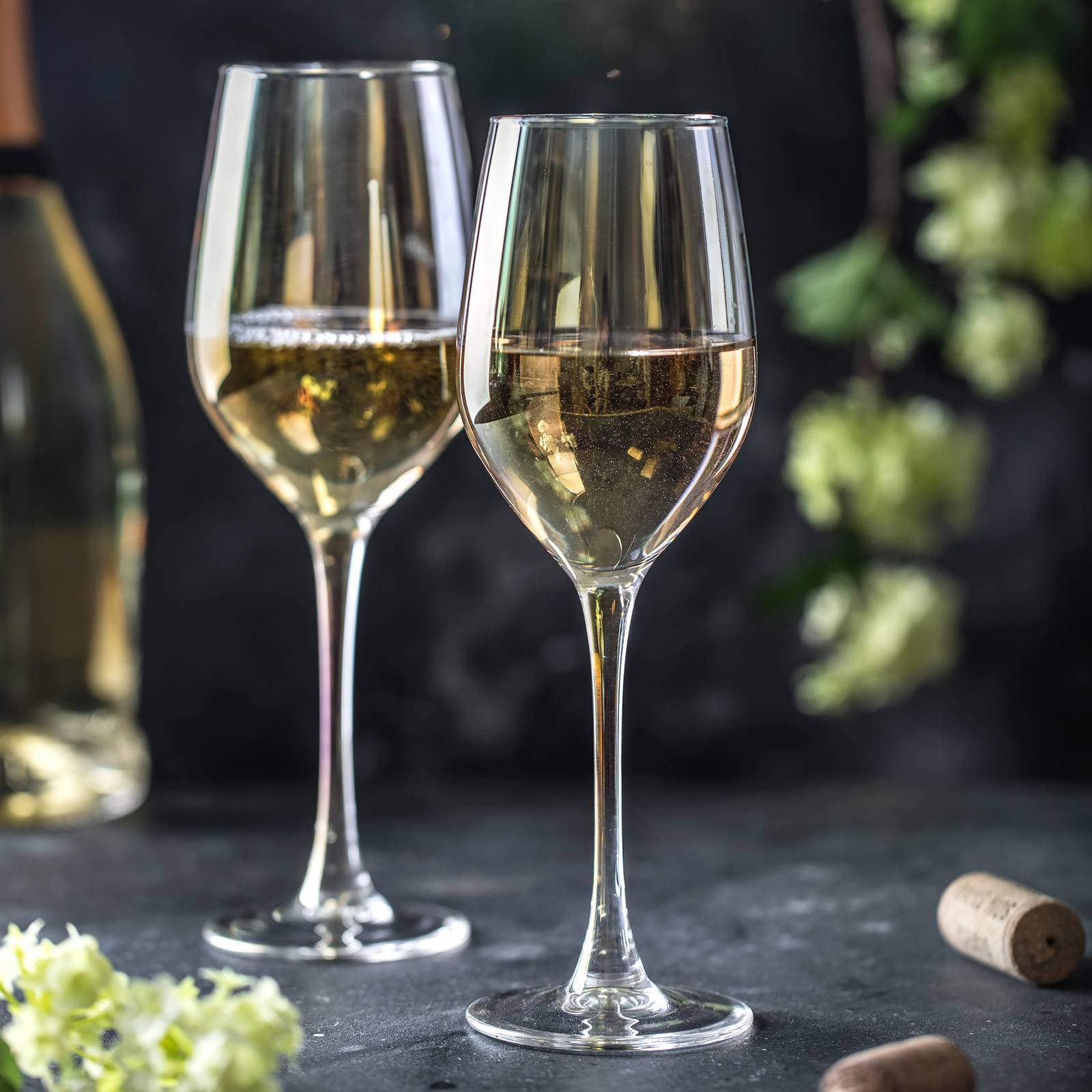 Komplet 6 kieliszków do wina Celeste Golden Chameleon 350 ml LUMINARC