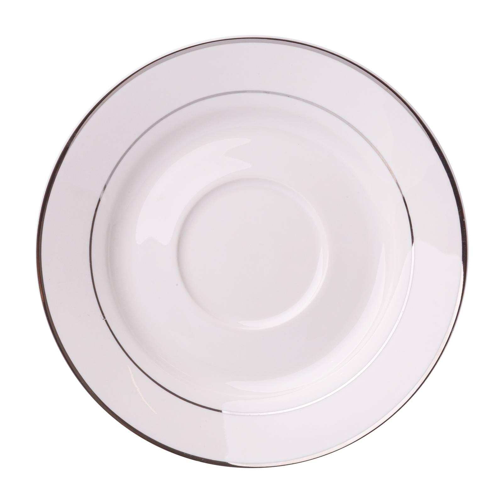 Untertasse Aura Silver 15,5 cm AMBITION