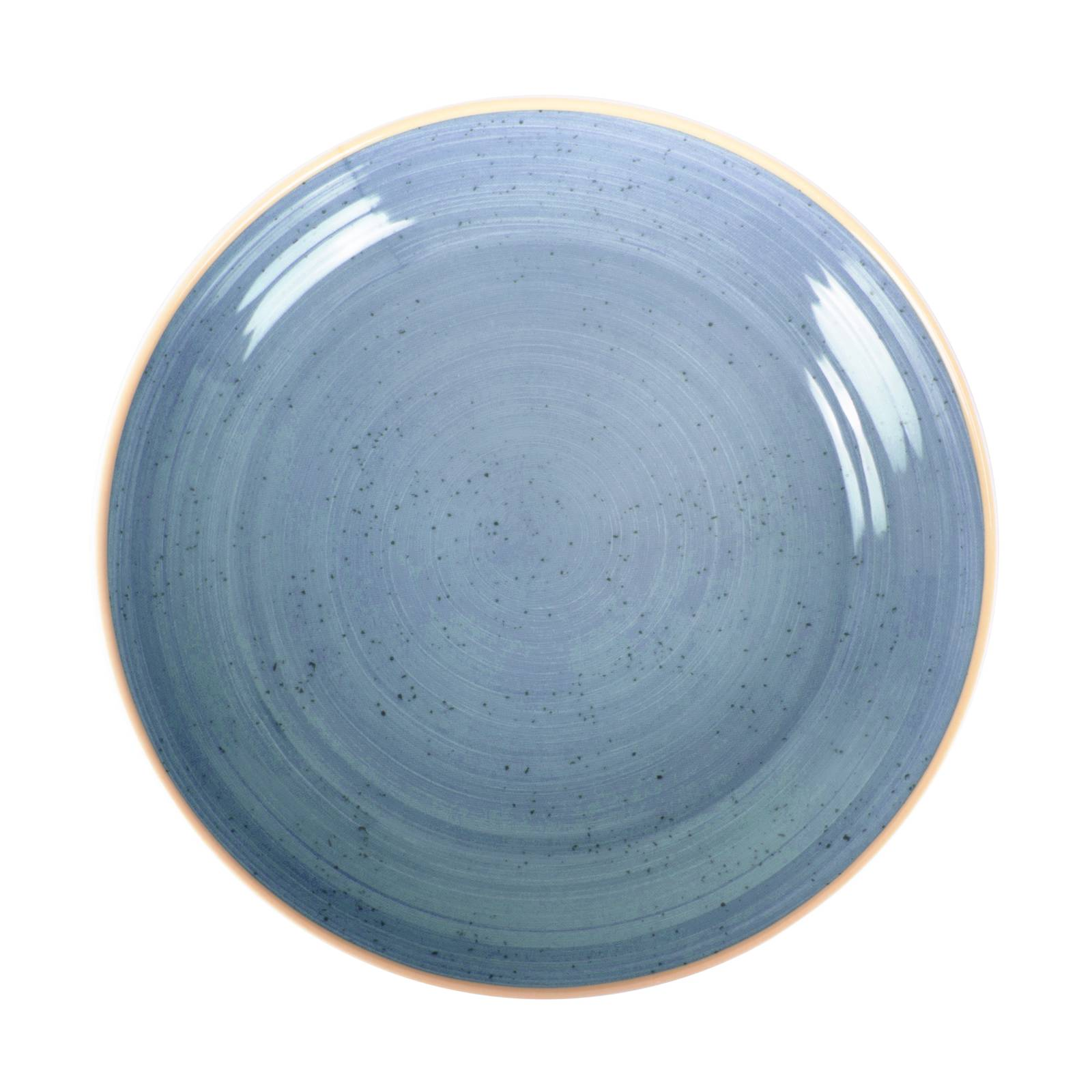 Assiette creuse calotte Terra Blue 21 cm ARIANE