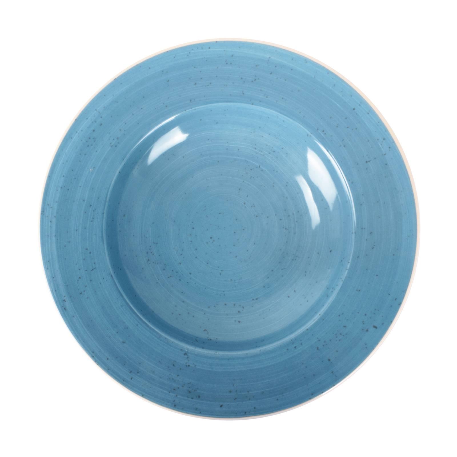 Assiette creuse Terra Blue 26 cm ARIANE