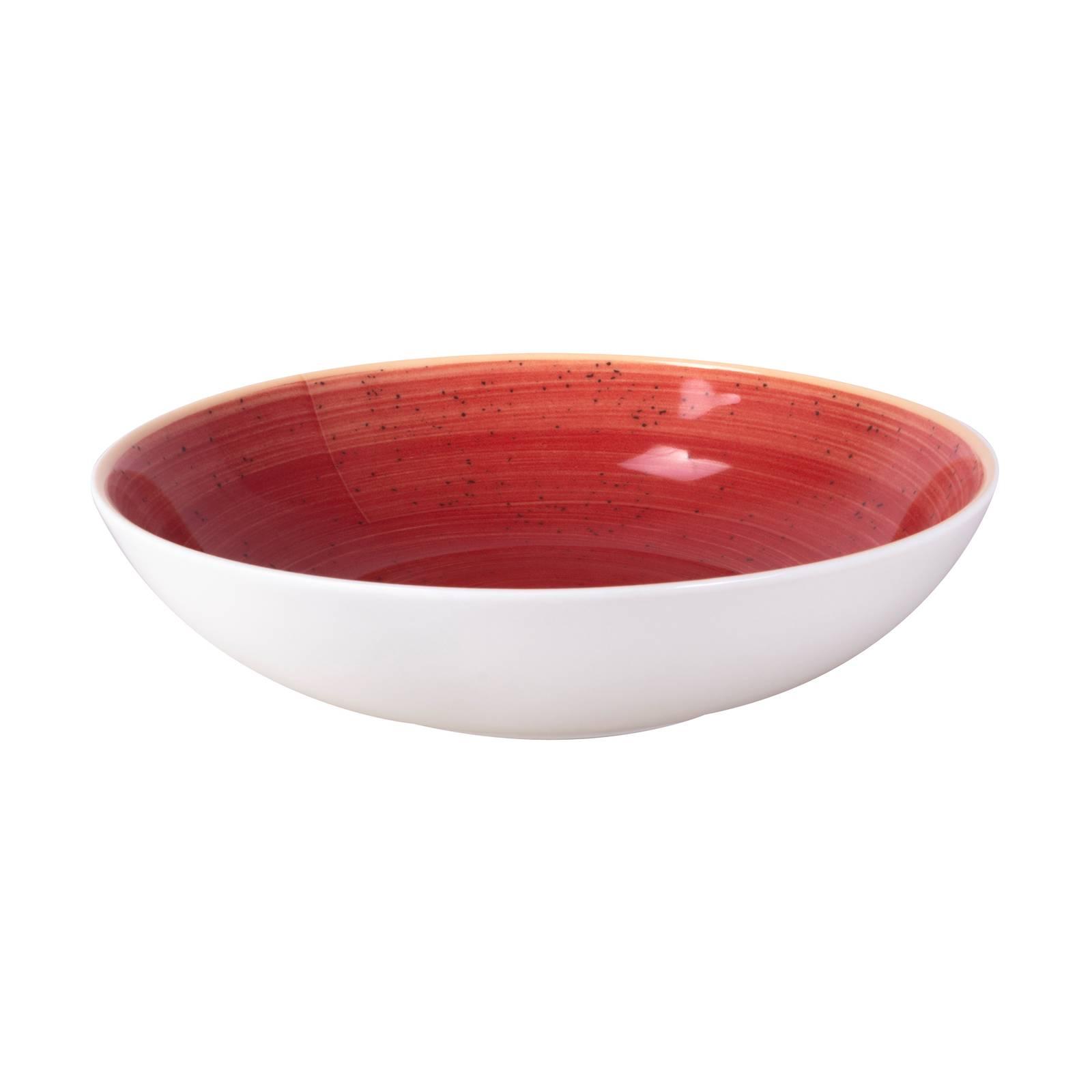 Porcelánový hluboký talíř Terra Red Coupe 21 cm ARIANE