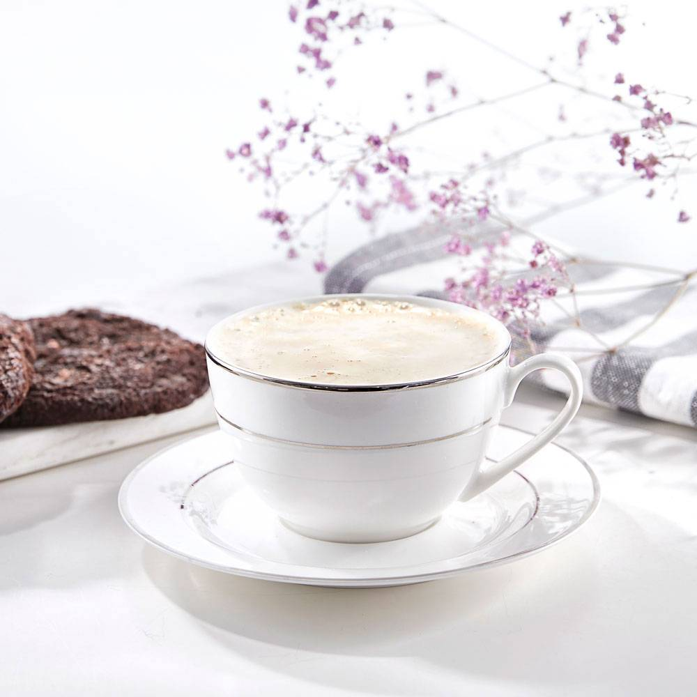 Kaffeeservice Aura Silver 12-tlg. AMBITION