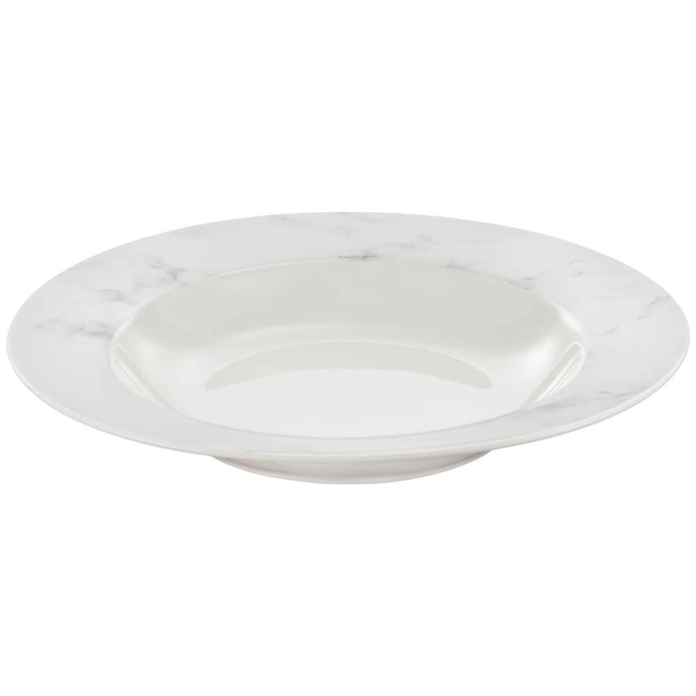 Suppenteller 22,5 cm Marble AMBITION