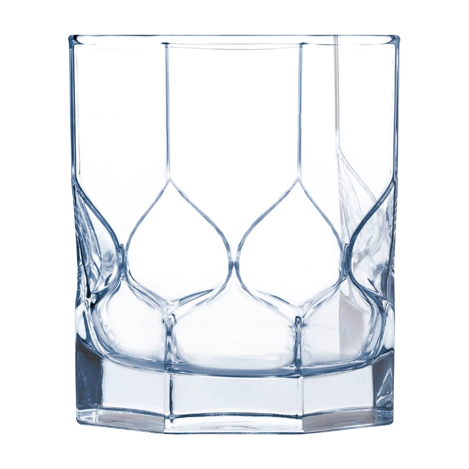 Set of 6 low glasses Octime Diamond 300 ml LUMINARC
