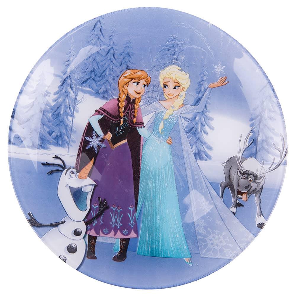 Dessert plate Frozen Winter Magic 20,4 cm LUMINARC