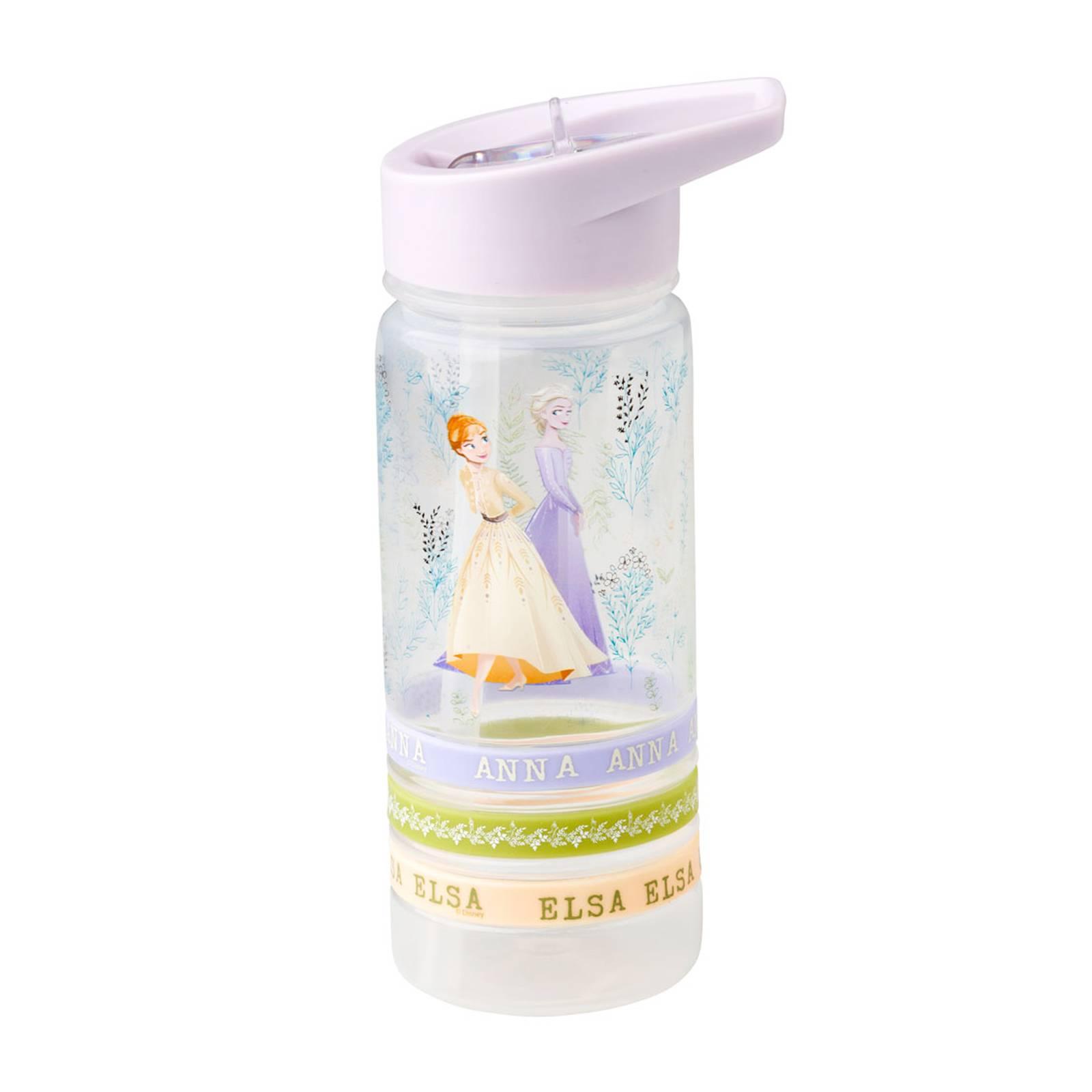 Sportovní láhev s náramky Frozen II Herbal 520 ml DISNEY