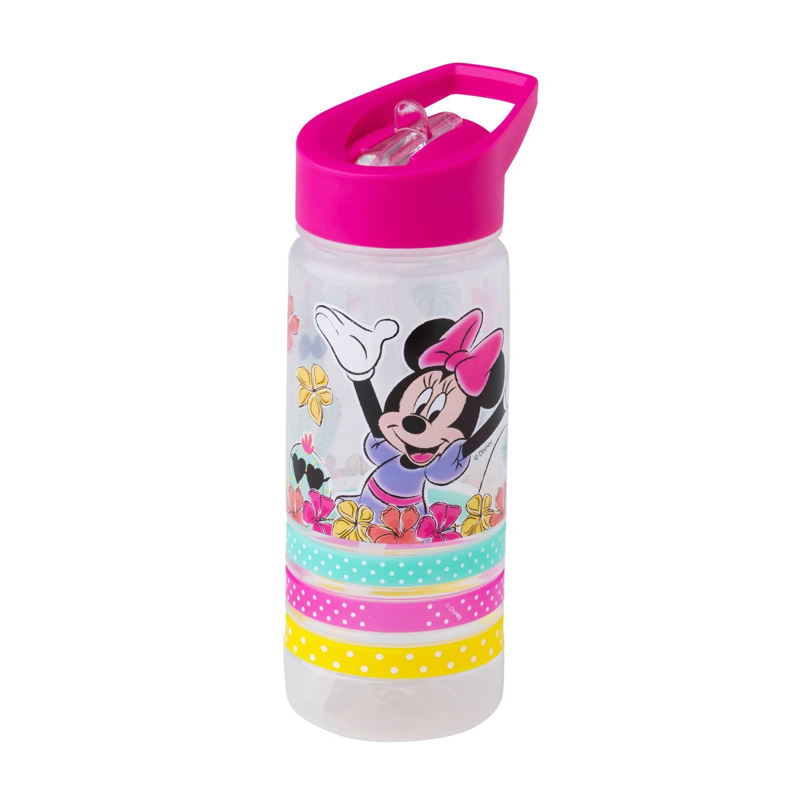 Sportovní láhev Minnie Cactus s náramky 520 ml DISNEY
