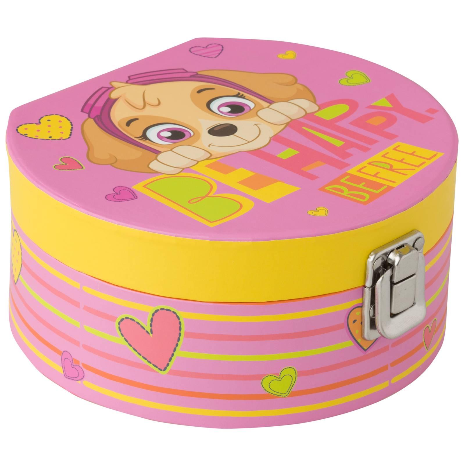 Pudełko z lusterkiem Psi Patrol Girls 17 x 15,5 x 8 cm NICKELODEON