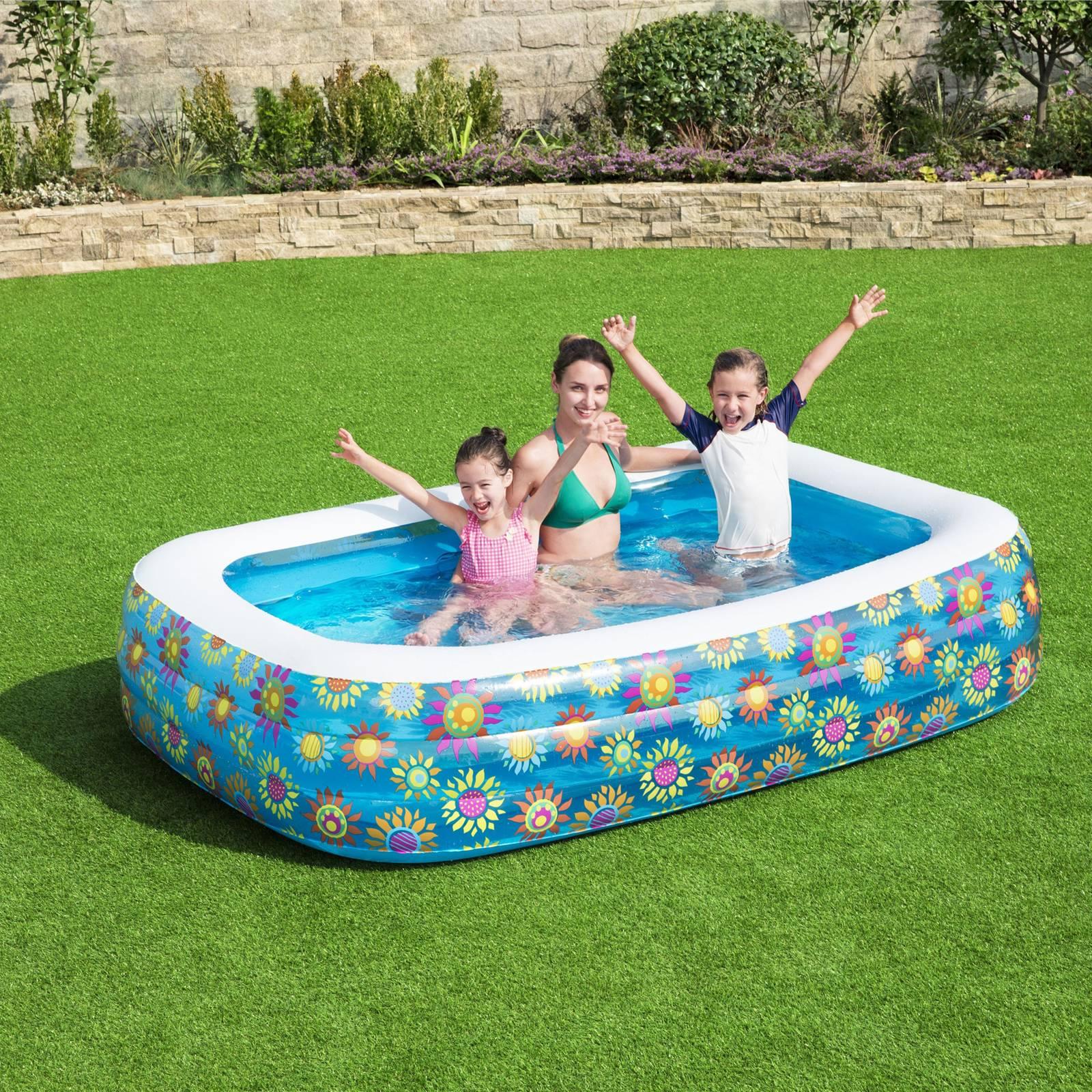 Basen dmuchany Play Pool 229 x 152 x 56 cm BESTWAY – MIX KOLORÓW