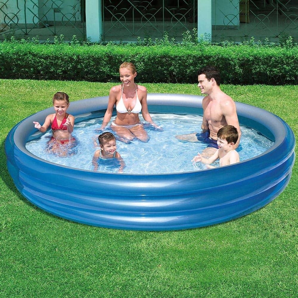 Nafukovací detský bazén Big Metalic 249 x 53 cm BESTWAY