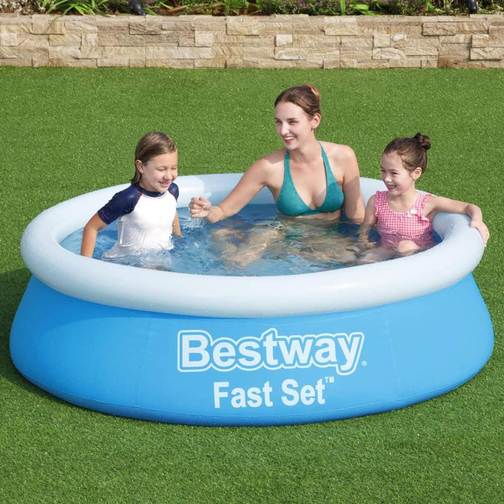 Nadzemný bazén s golierom Fast Set 183 x 51 cm 940 l BESTWAY