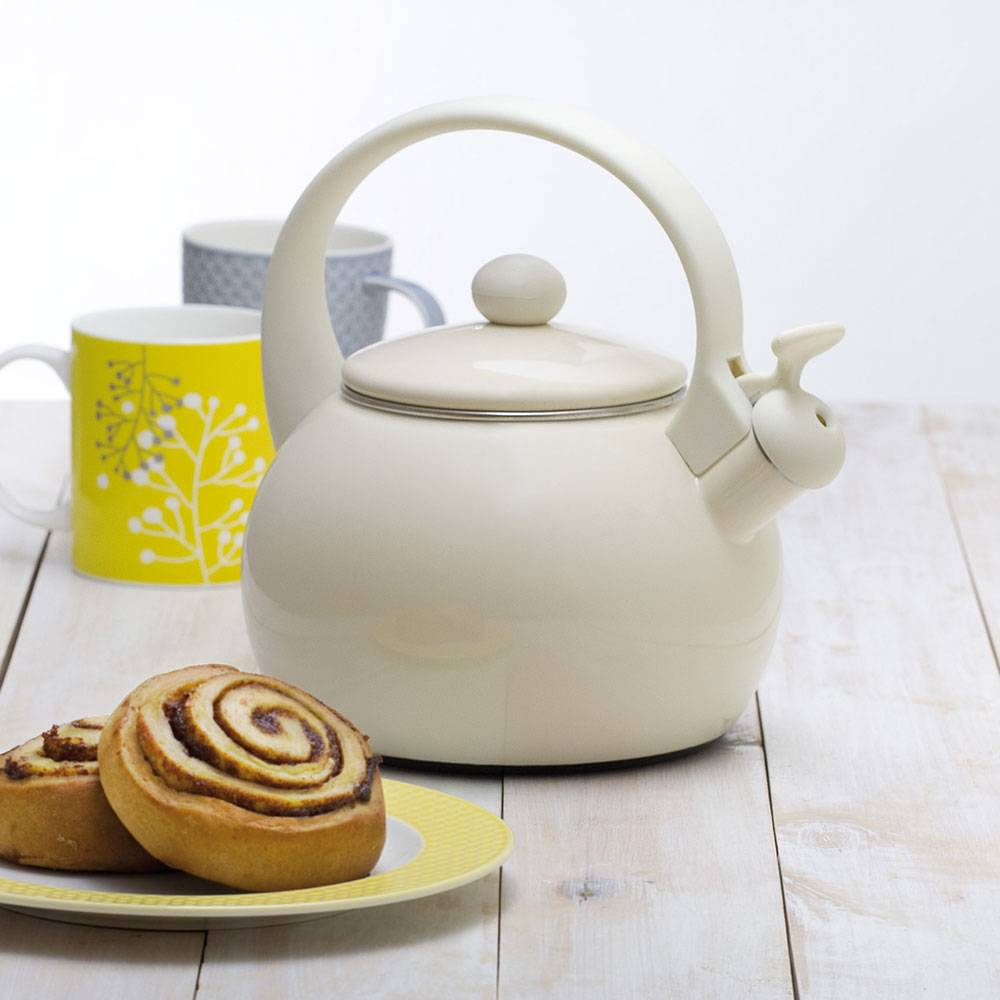 Smaltovaný čajník Nordic Cream 2,2 l AMBITION