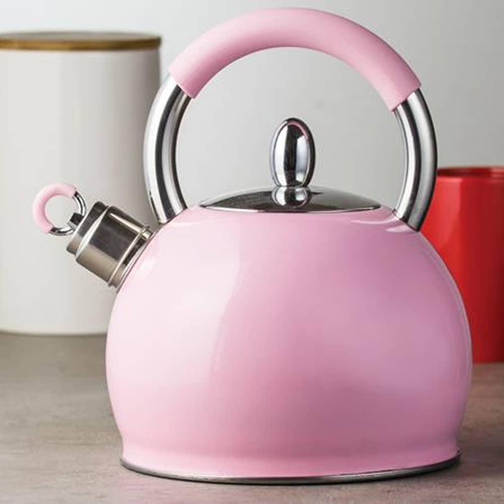 Nerezový čajník Creamy Pink 2,9 l AMBITION