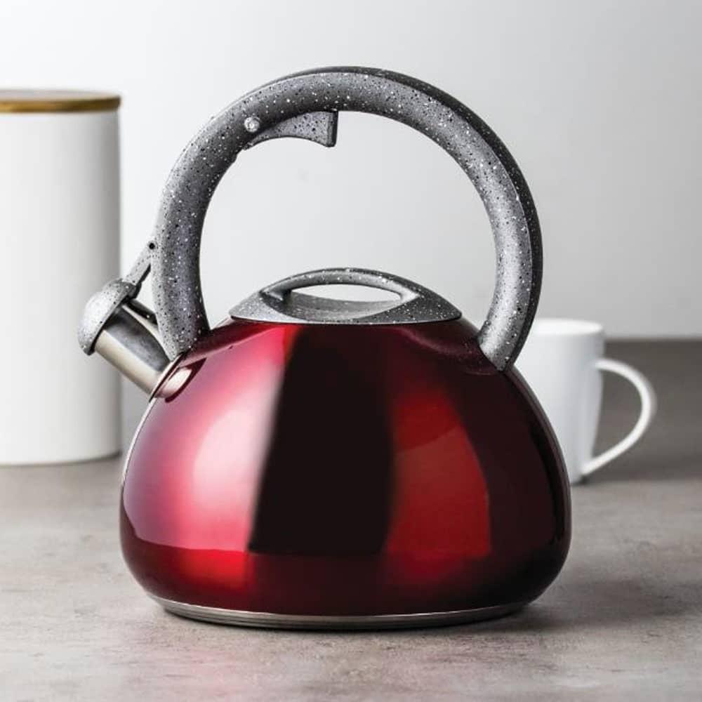 Nerezový čajník Jasper Red 2,9 l AMBITION