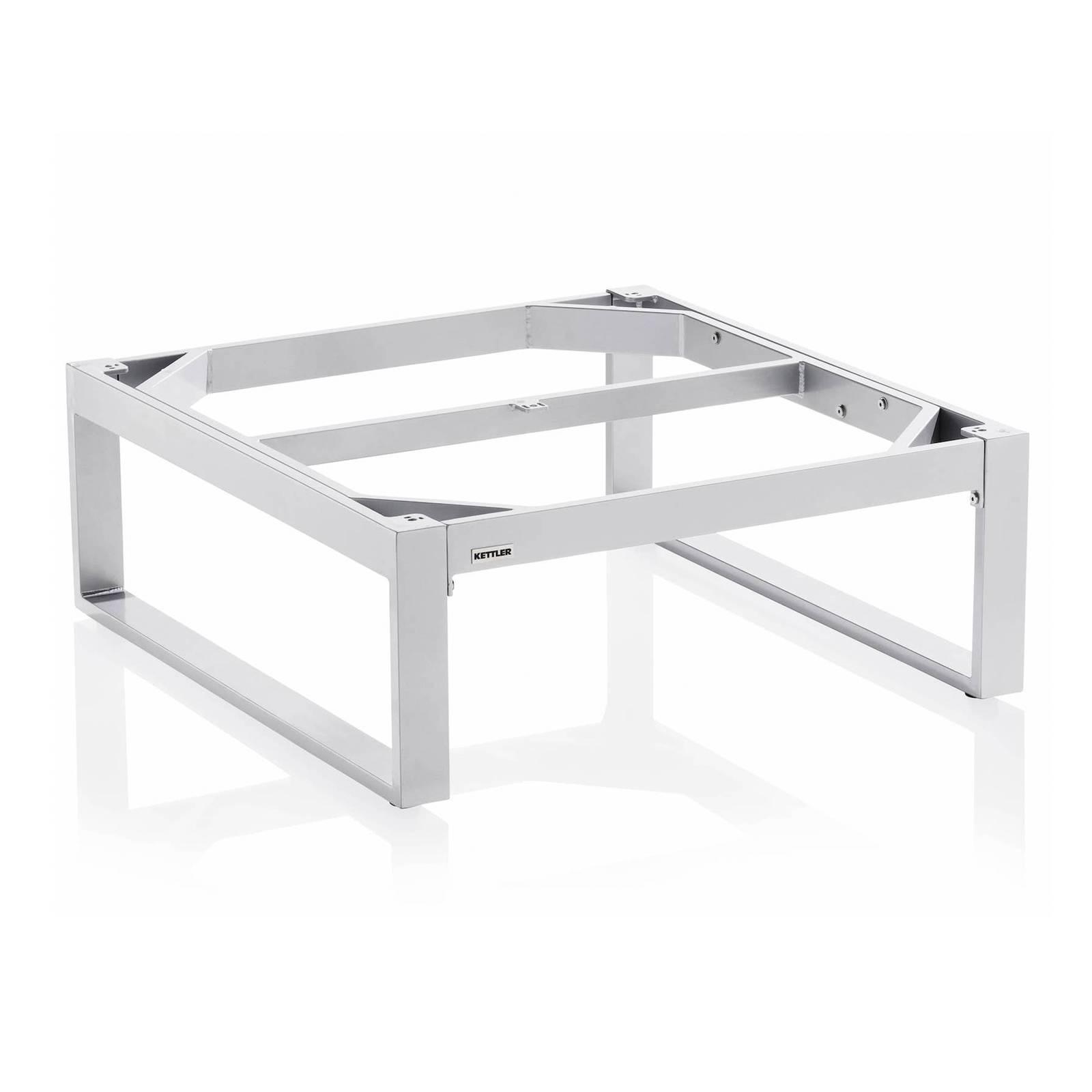 Stelaż stołu Ego 95 x 95 x 33 cm srebrny KETTLER
