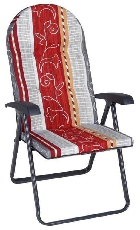 Garden recliner with cushion Galaxy C038-13BB PATIO