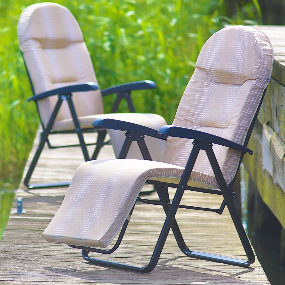 Garden reclining chair Galaxy Plus H016-05PB PATIO