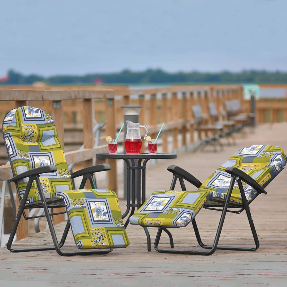 Garden reclining chair Galaxy Plus E014-12PB PATIO