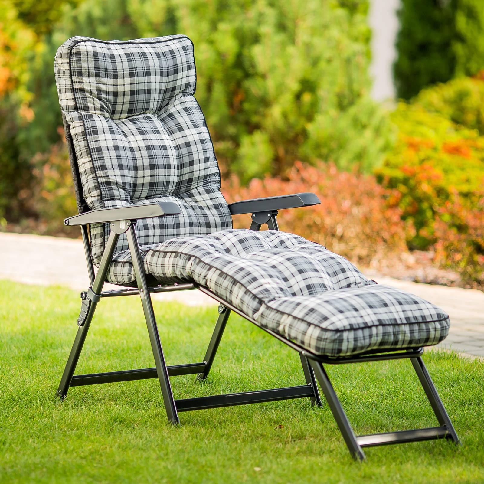 Transat chaise longue Lena Lounger B022-06PB PATIO