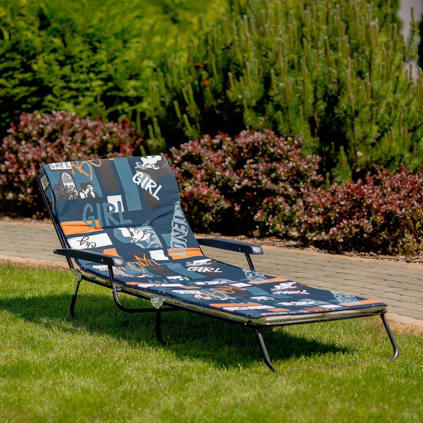Polohovacie záhradné lehátko / lôžko Torino F004-01LB PATIO