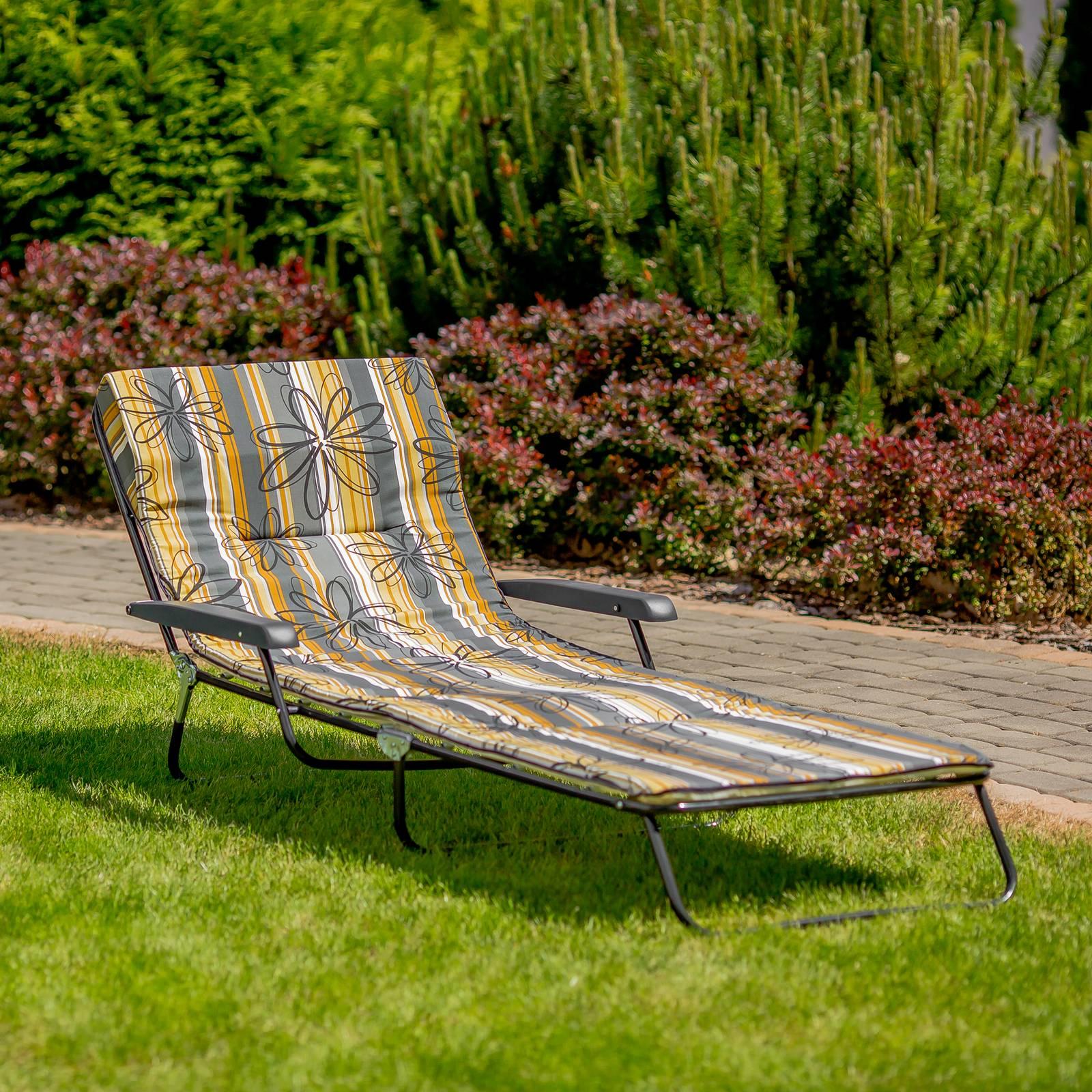 Polohovacie záhradné lehátko / lôžko Torino C037-16PB PATIO