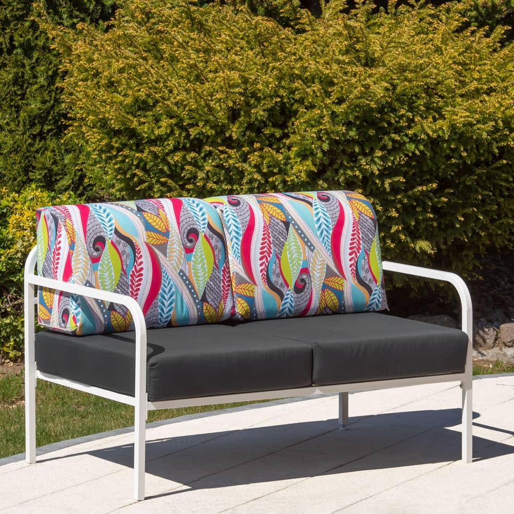 Sofa 2-osobowa Agat 125 x 77 x 74 cm  L122-07EB PATIO
