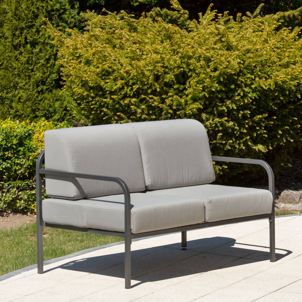 Sofa 2-osobowa Agat 125 x 77 x 74 cm D042-16DW PATIO