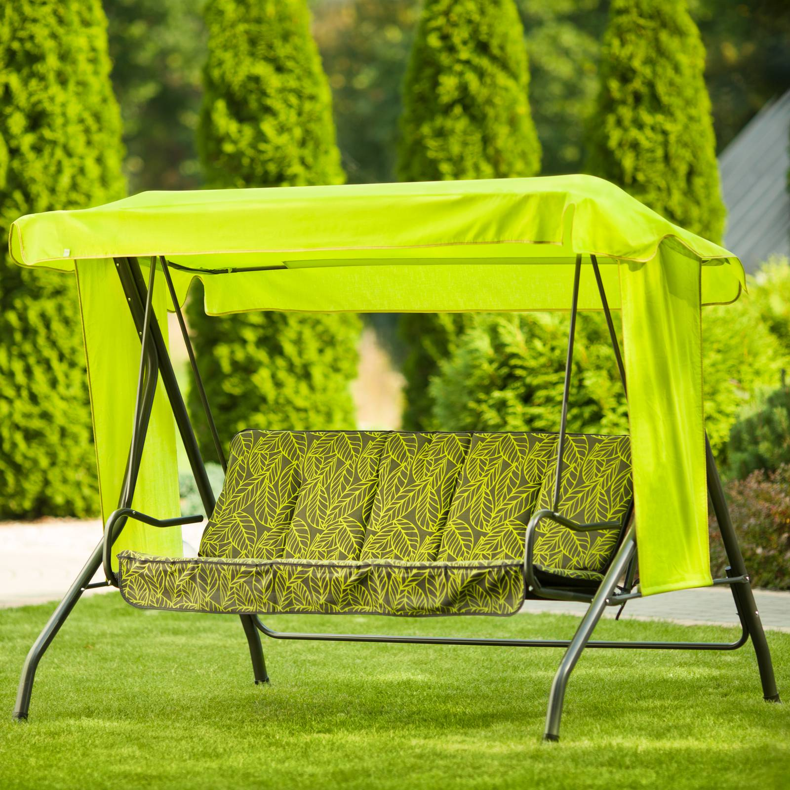 Huśtawka ogrodowa Latina z kompletem poduszek G032-12PB PATIO