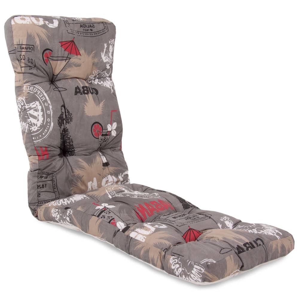 Garden reclining cushion Cordoba Plus 8/10 cm F001-06PB PATIO