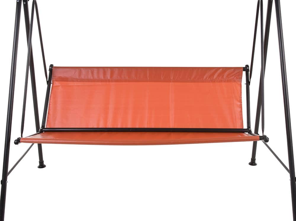 Asiento de reemplazo para balancín de jardín Tora 95 x 131 cm naranja PATIO