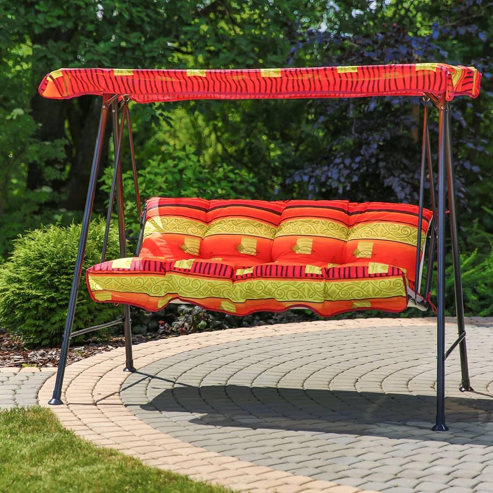 Poduszki z daszkiem na huśtawkę 138 cm Tora C025-13BB PATIO