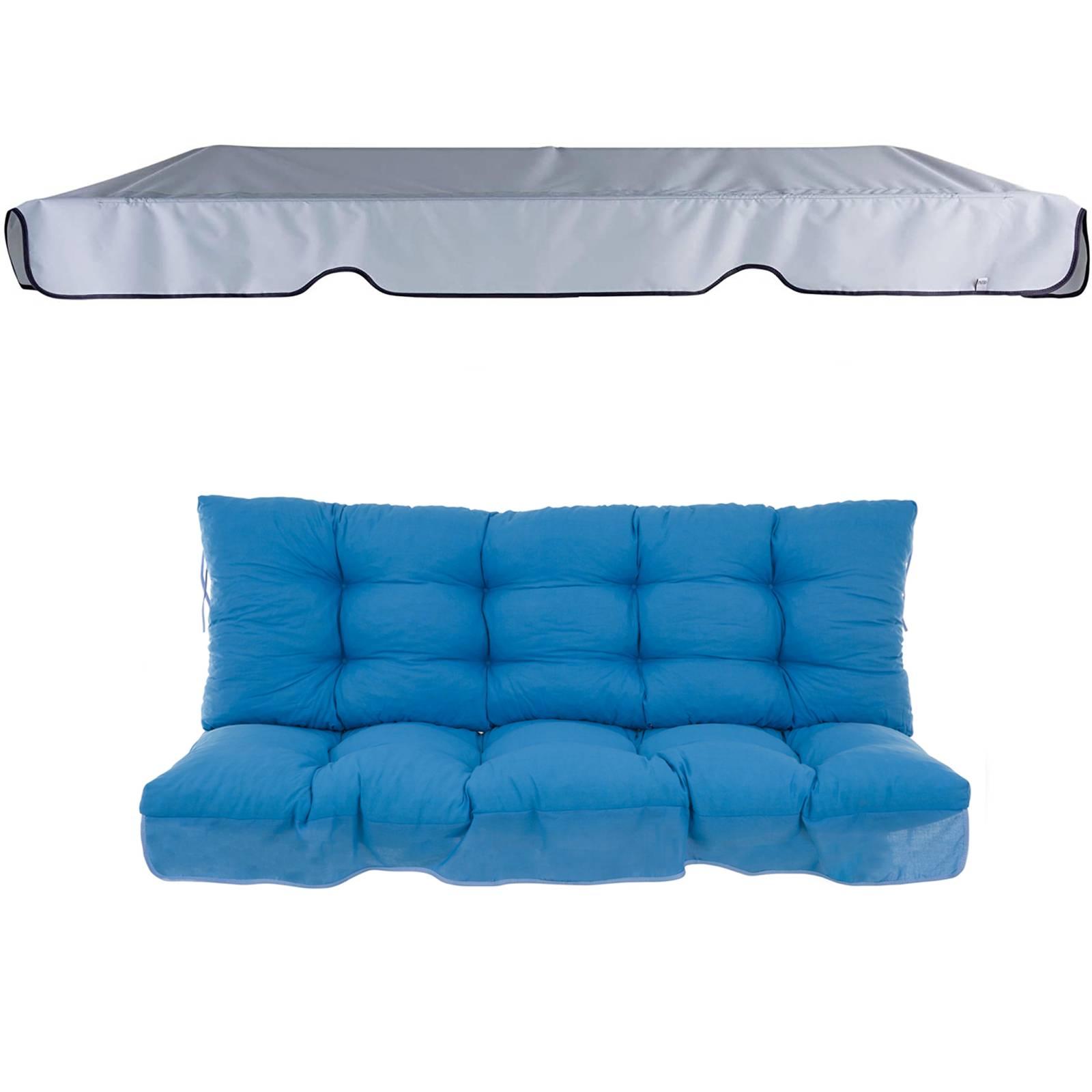 Poduszki z daszkiem na huśtawkę 150 cm Piemont D001-11BB PATIO