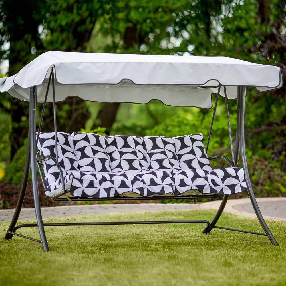 Poduszki z daszkiem na huśtawkę 150 cm Piemont H020-07PB PATIO