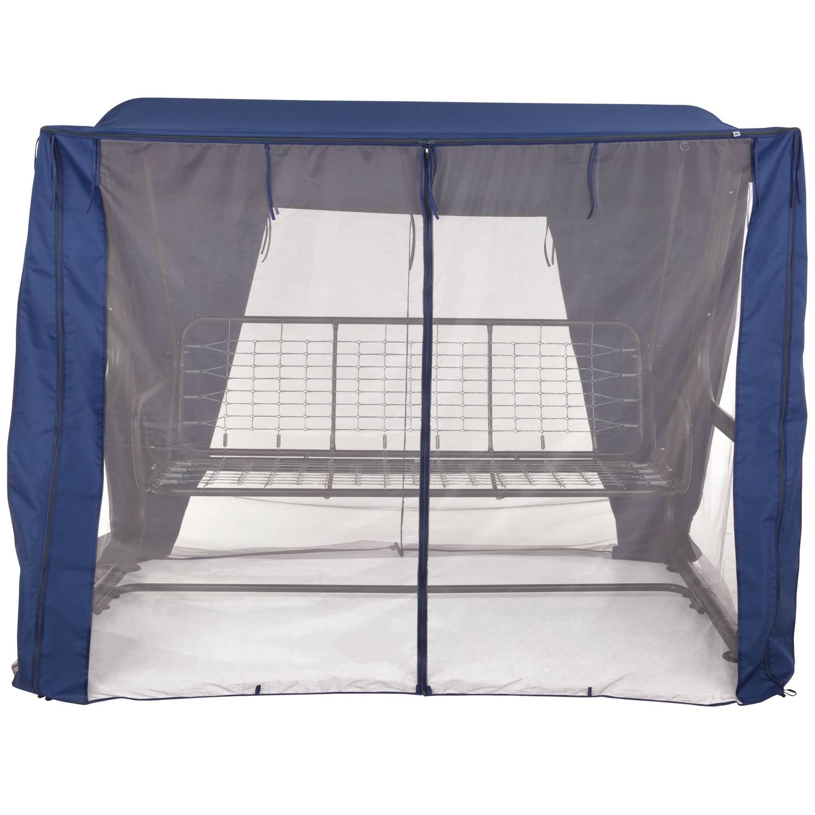 Dach z moskitierą do huśtawki ogrodowej 235 x 128 x 175  cm Rimini / Venezia D031-01CW PATIO