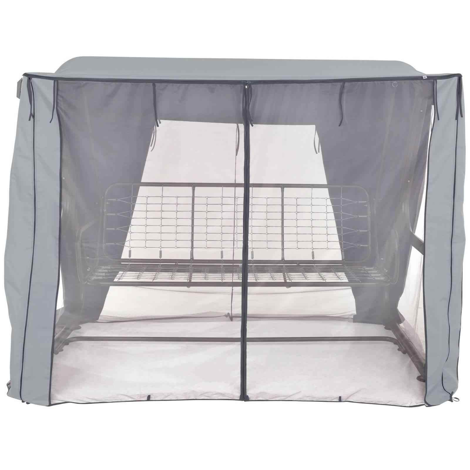 Dach z moskitierą do huśtawki ogrodowej 235 x 128 x 175  cm Rimini / Venezia D031-06CW PATIO
