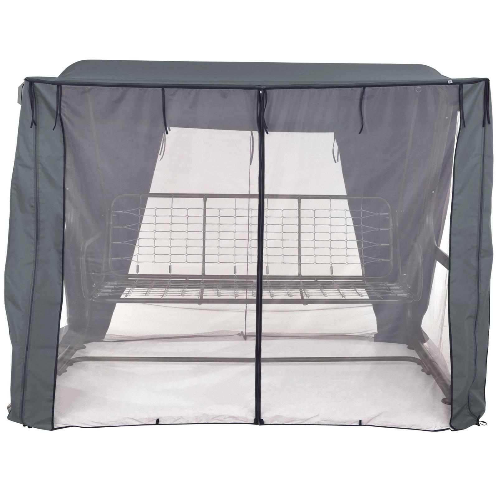 Dach z moskitierą do huśtawki ogrodowej 235 x 128 x 175  cm Rimini / Venezia D031-26CW  PATIO