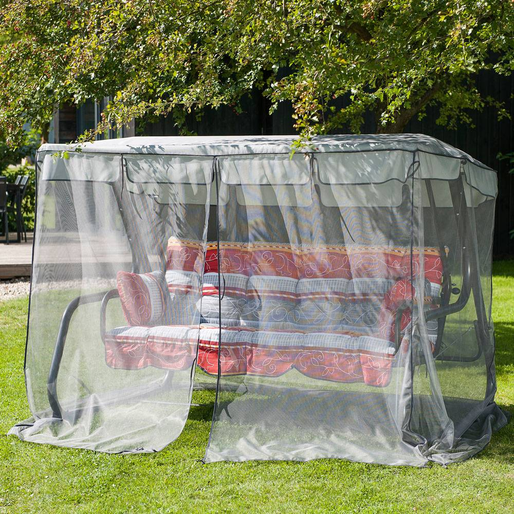 Universal  mosquito net for the garden swings M PATIO