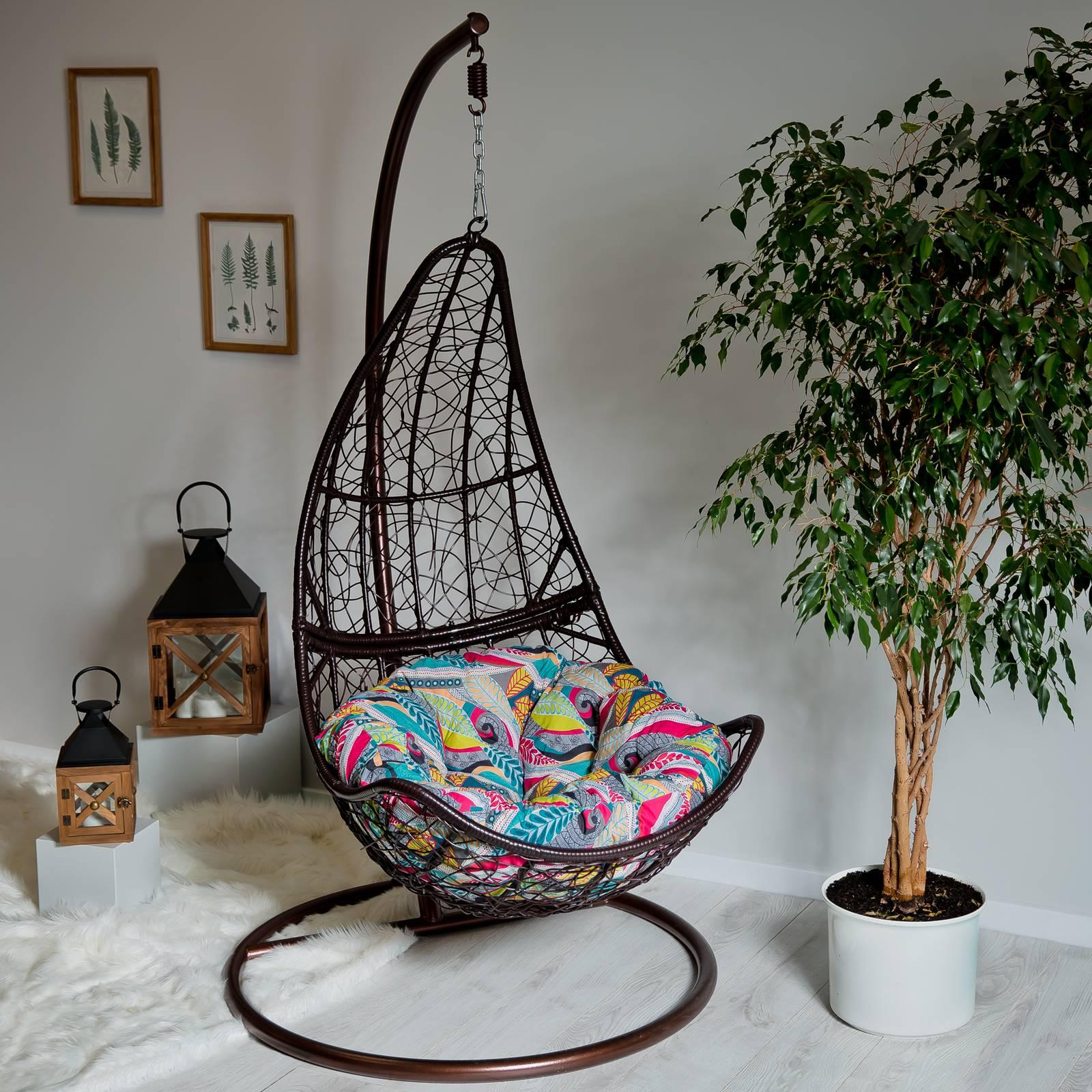 Poduszka na fotel wiszący Koło G039-11HB 100 x 100 x 10/12 cm PATIO