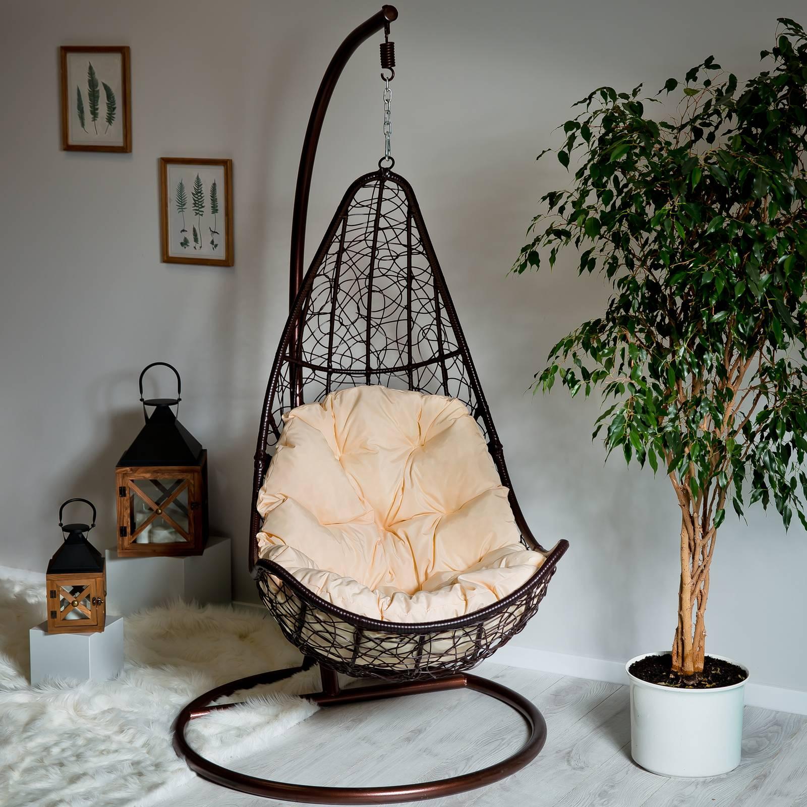 Poduszka na fotel wiszący Trapez D031-05CW 144 x 90/64 x 10/12 cm PATIO