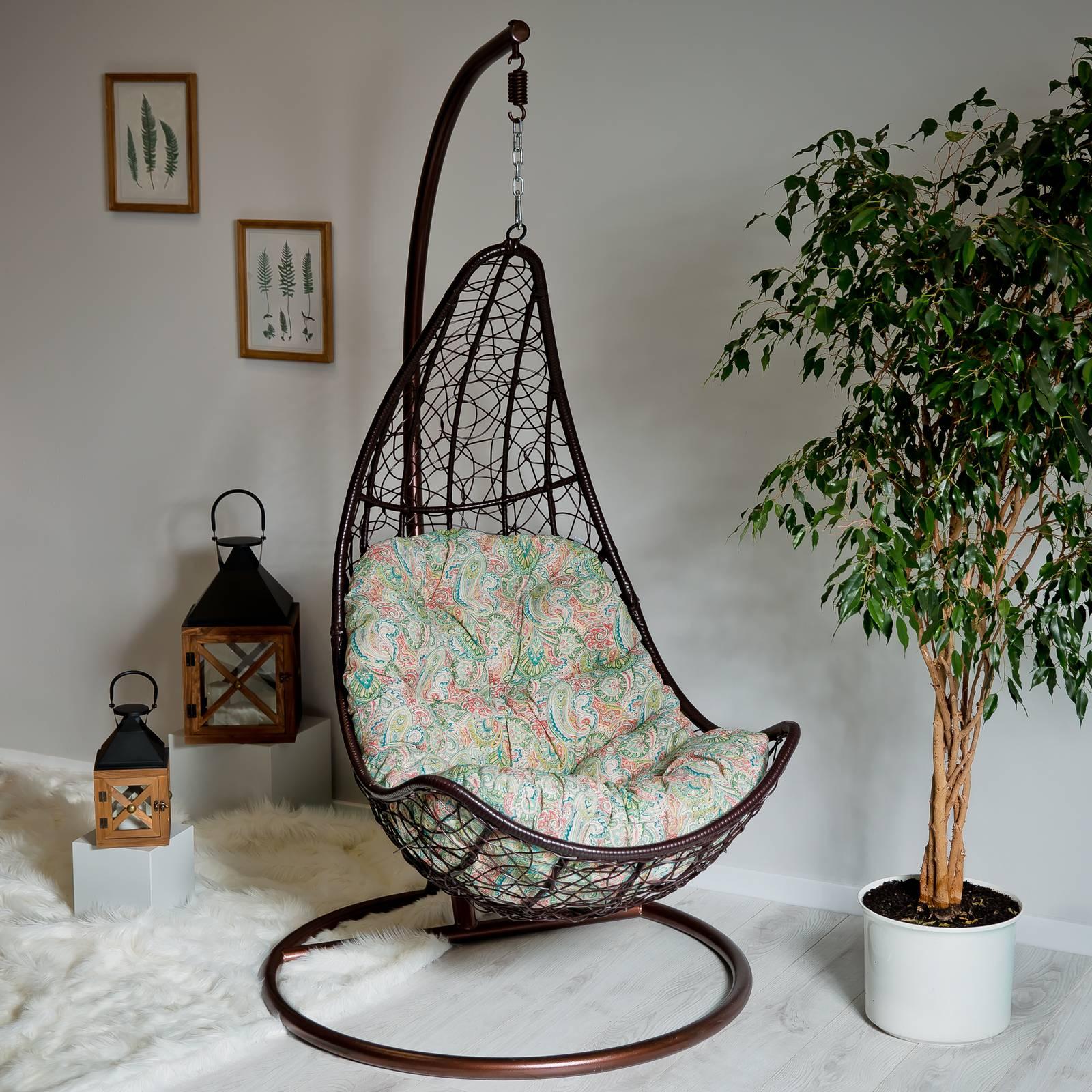 Poduszka na fotel wiszący Trapez G038-12LB 144 x 90/64 x 10/12 cm PATIO