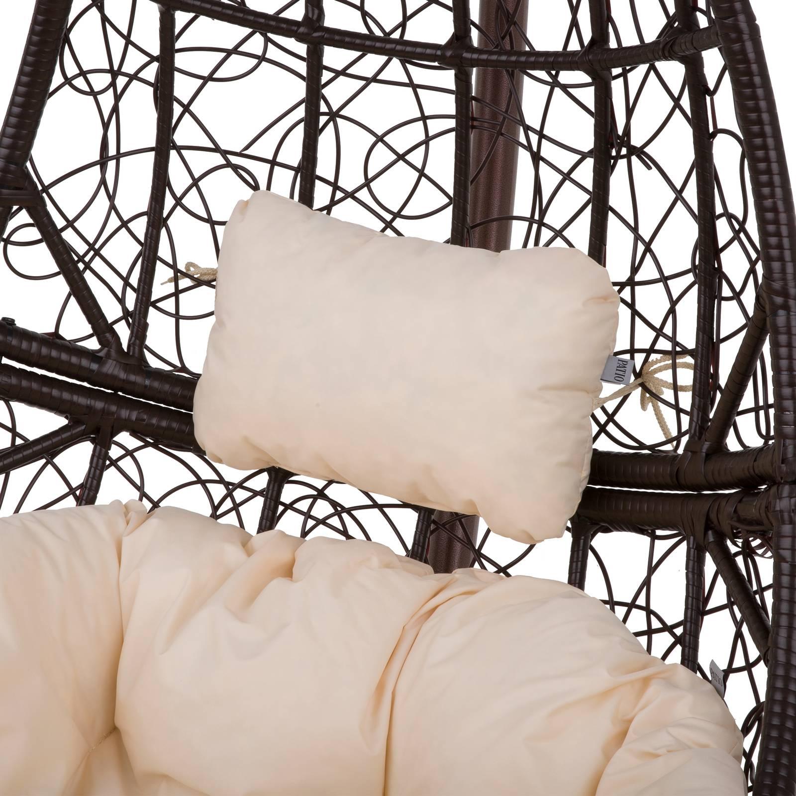 Poduszka na fotel wiszący Zagłówek D031-05CW 20 x 32 x 10 cm PATIO