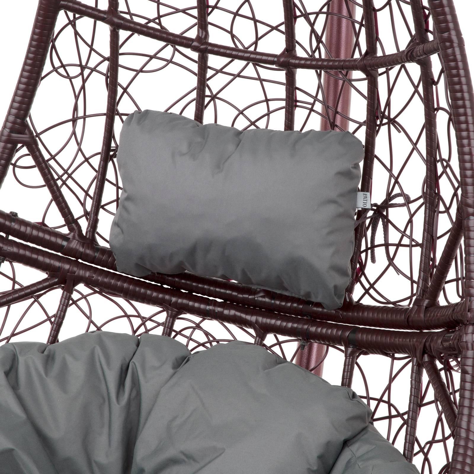 Poduszka na fotel wiszący Zagłówek D031-26CW 20 x 32 x 10 cm PATIO